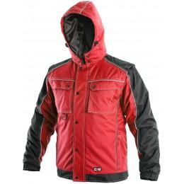 Куртка IRVINE червоний/чорний