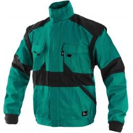Куртка LUXY EDA зелений/чорний