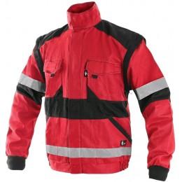 Куртка LUXY BRIGHT червоний/чорний