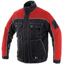 Куртка ORION OTAKAR чорний/червоний