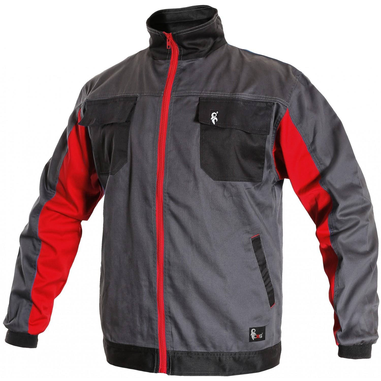 Куртка PHOENIX PERSEUS сірий/чорний/червоний