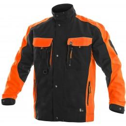 Куртка SIRIUS BRIGHTON чорно/помаранчева