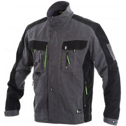Куртка SIRIUS LUCIUS сірий/чорний/лайм