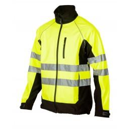 Куртка софтшелл SOUTHHAMPTON сигнальна зі світловідбиваючими стрічками