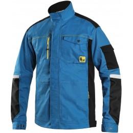 Куртка STRETCH світло-синя/чорна